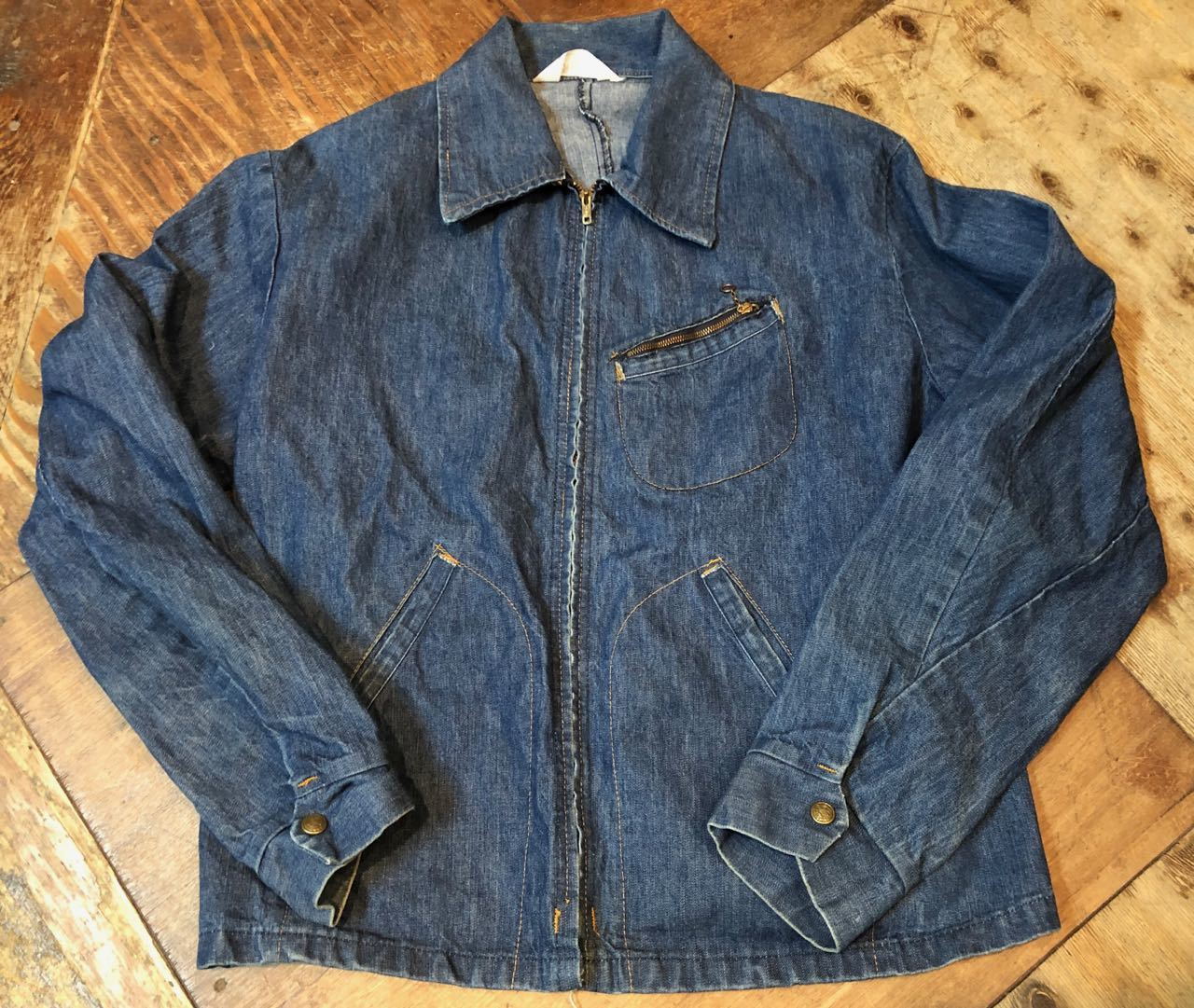 4月1日(月)入荷! 70s KEY DENIM  JACKET !_c0144020_13263139.jpg
