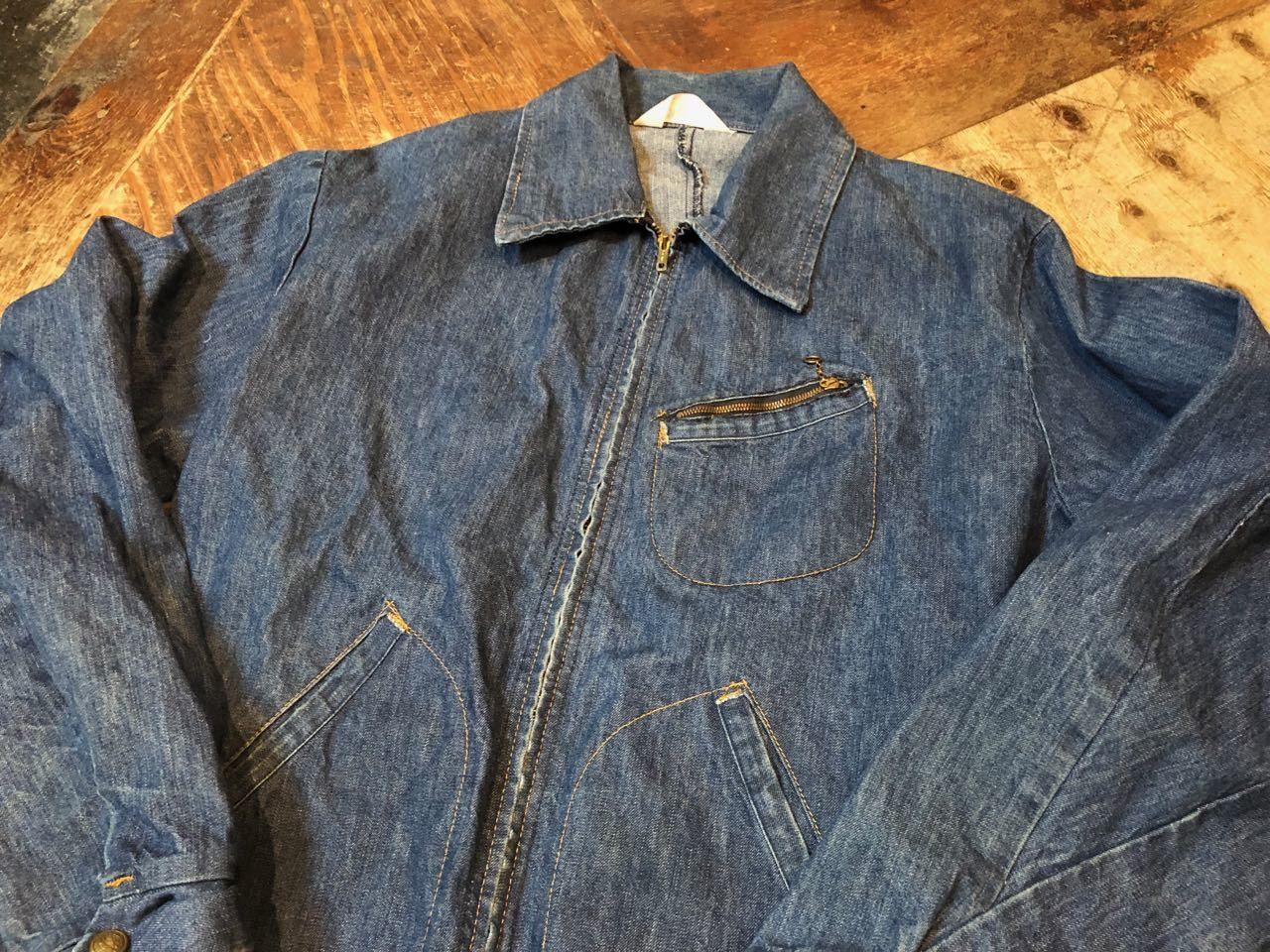 4月1日(月)入荷! 70s KEY DENIM  JACKET !_c0144020_13263657.jpg