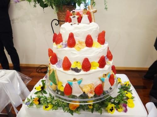お幸せに~!! とっても素敵な結婚式がありました!!_d0120628_22224751.jpg