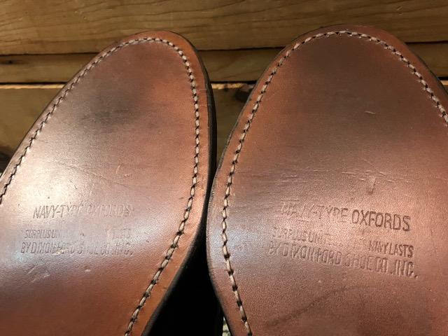 4月3日(水)マグネッツ大阪店、春ヴィンテージ入荷!!#2 待望の再入荷編!!50\'~70\'s U.S.Navy Private Purchase Service Shoes!!(大阪アメ村店)_c0078587_13214750.jpg