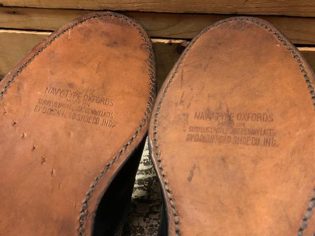 4月3日(水)マグネッツ大阪店、春ヴィンテージ入荷!!#2 待望の再入荷編!!50\'~70\'s U.S.Navy Private Purchase Service Shoes!!(大阪アメ村店)_c0078587_1327142.jpg