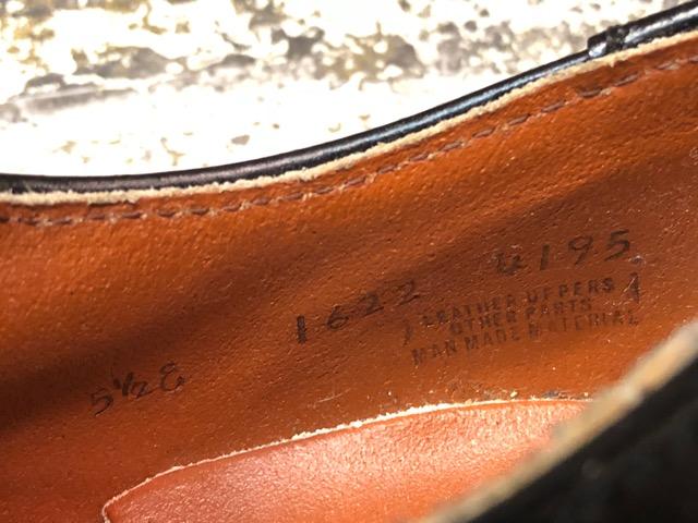 4月3日(水)マグネッツ大阪店、春ヴィンテージ入荷!!#2 待望の再入荷編!!50\'~70\'s U.S.Navy Private Purchase Service Shoes!!(大阪アメ村店)_c0078587_13345327.jpg
