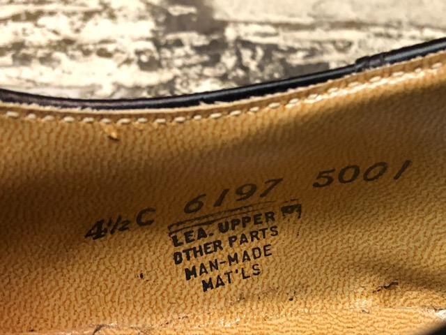 4月3日(水)マグネッツ大阪店、春ヴィンテージ入荷!!#2 待望の再入荷編!!50\'~70\'s U.S.Navy Private Purchase Service Shoes!!(大阪アメ村店)_c0078587_13362534.jpg