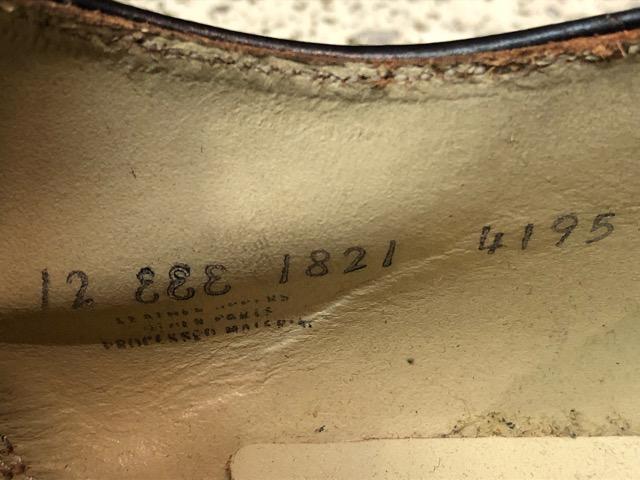 4月3日(水)マグネッツ大阪店、春ヴィンテージ入荷!!#2 待望の再入荷編!!50\'~70\'s U.S.Navy Private Purchase Service Shoes!!(大阪アメ村店)_c0078587_1410310.jpg
