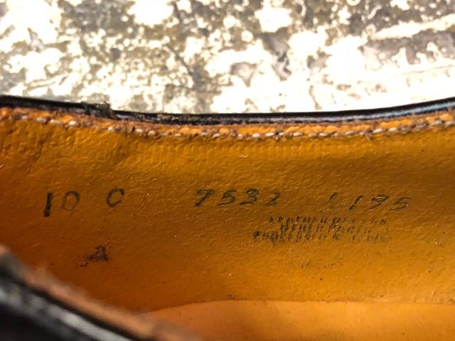 4月3日(水)マグネッツ大阪店、春ヴィンテージ入荷!!#2 待望の再入荷編!!50\'~70\'s U.S.Navy Private Purchase Service Shoes!!(大阪アメ村店)_c0078587_1481025.jpg