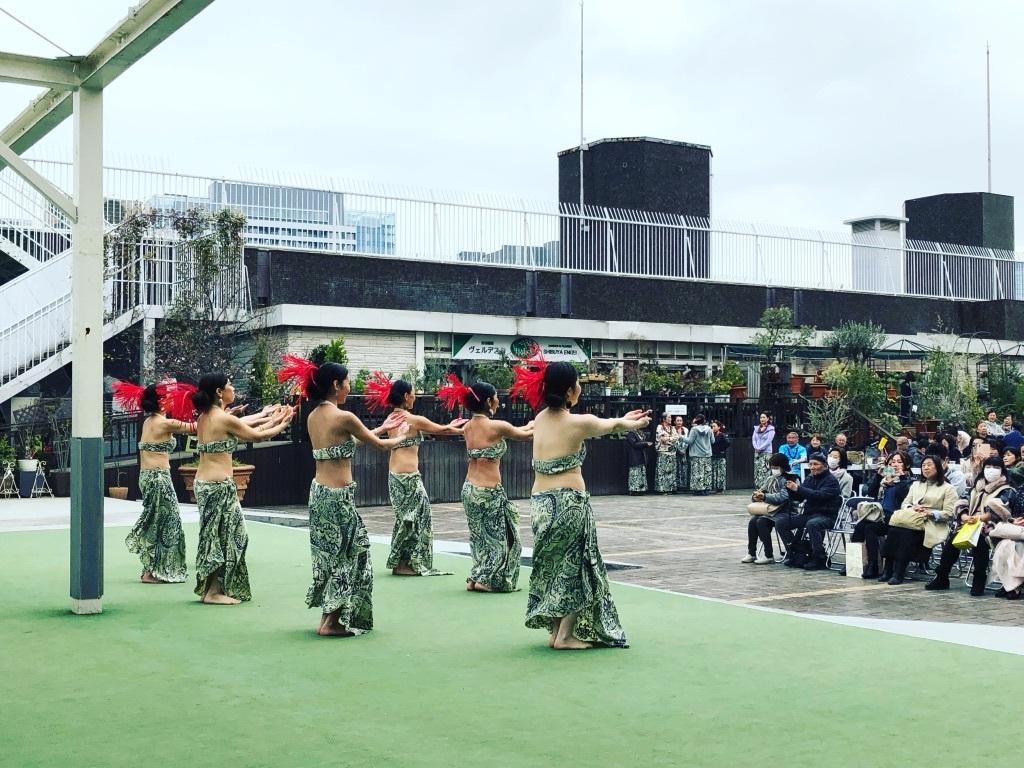 渋谷東急屋上にてハワイアンイベントやってます_f0110089_14190555.jpg