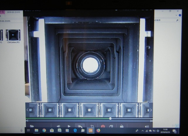 レンズシャッターのメンテナンス:デジカメの動画撮影でシャッター速度を測定 by 3dcam_d0138130_00285205.jpg