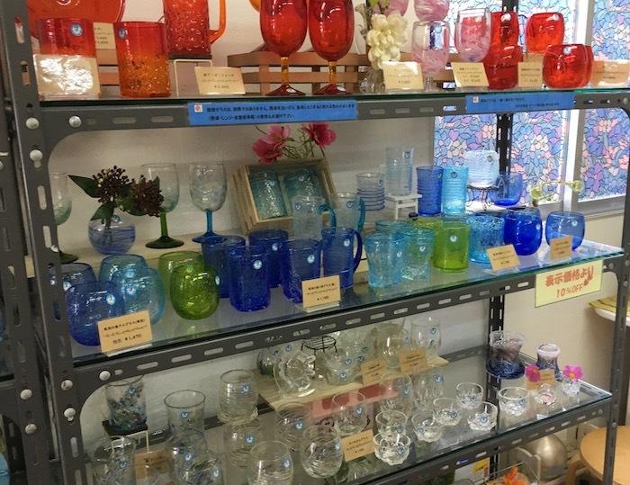 沖縄本島北へゆく旅8 琉球ガラス作りを体験する_e0359436_16033718.jpg