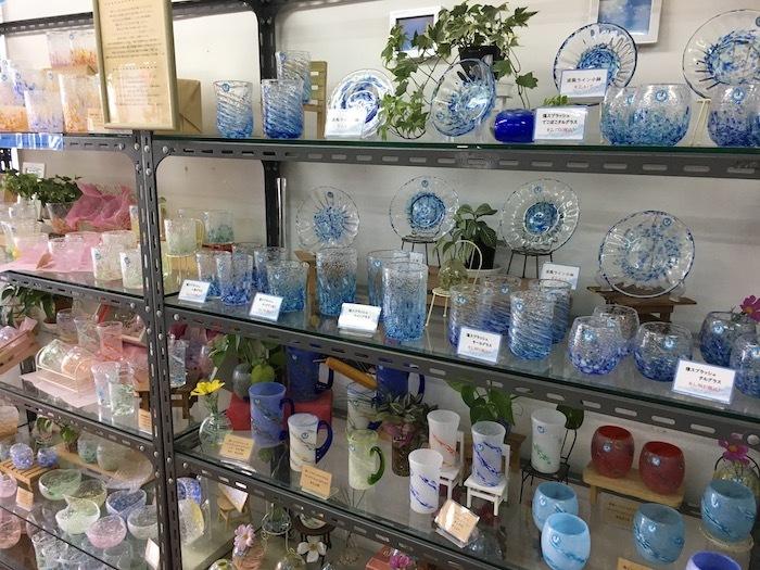 沖縄本島北へゆく旅8 琉球ガラス作りを体験する_e0359436_16033954.jpg