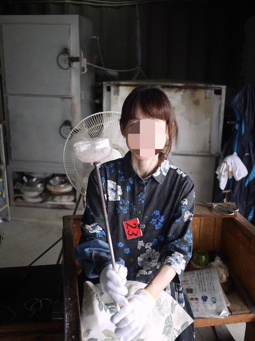 沖縄本島北へゆく旅8 琉球ガラス作りを体験する_e0359436_16172169.jpg
