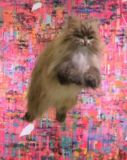 チャチャキ ナナ  「ありがとう 猫」展_f0222045_11093621.jpg