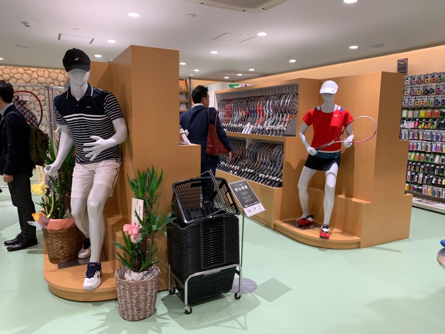 SPORTS MITSUHASHI様 ホワイトライン店・雅店完了!_f0300358_14224888.jpg