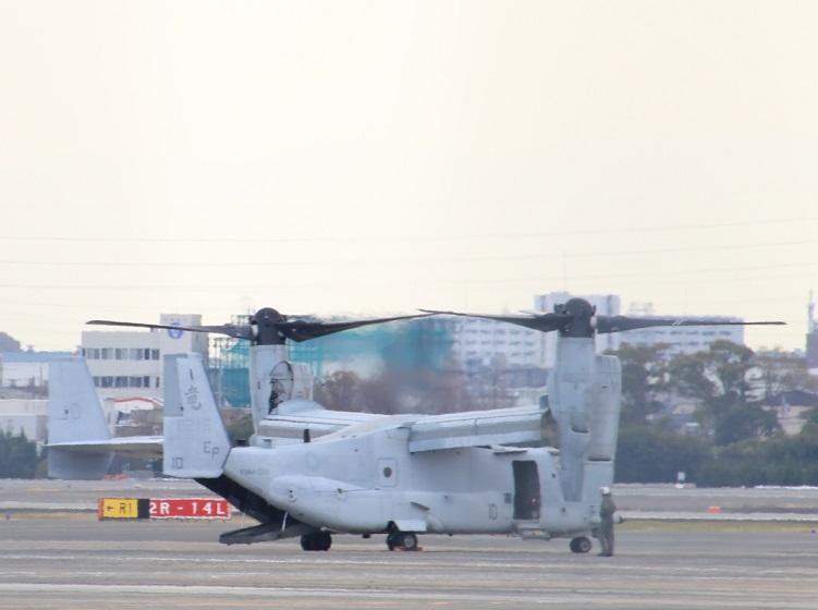 MV-22オスプレイ 伊丹空港 制限区域外 公道より撮影_d0202264_17153711.jpg