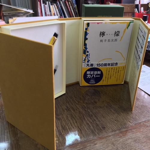 黄色狂、丸善150周年記念万年筆『檸檬』を買う、の巻_b0010487_09301385.jpg