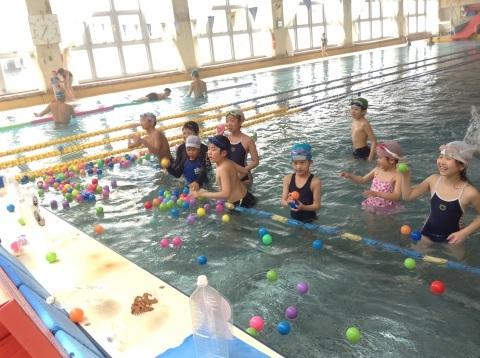 春短期教室1期水中祭り_b0286596_16121992.jpg