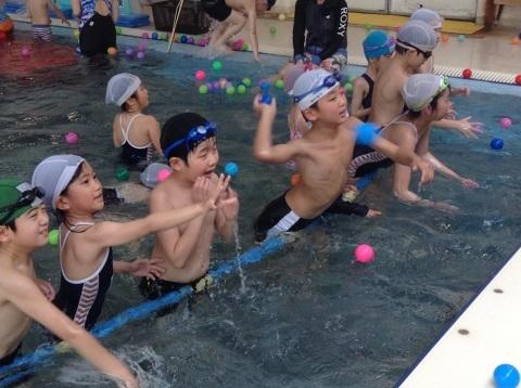 春短期教室1期水中祭り_b0286596_16134765.jpg
