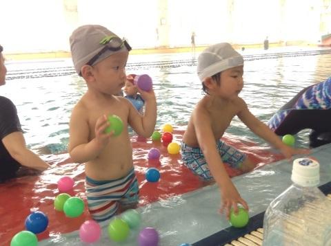 春短期教室1期水中祭り_b0286596_16142132.jpg