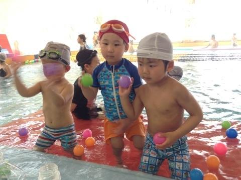 春短期教室1期水中祭り_b0286596_16143956.jpg