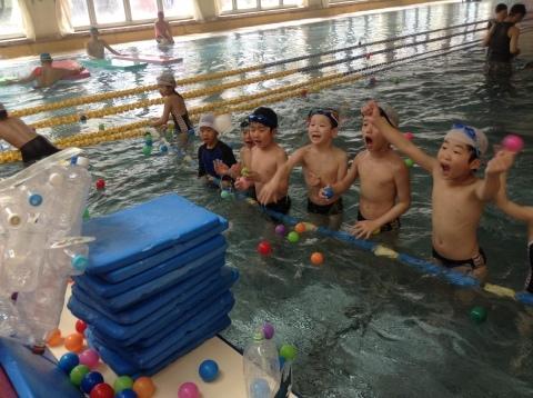 春短期教室1期水中祭り_b0286596_16165039.jpg