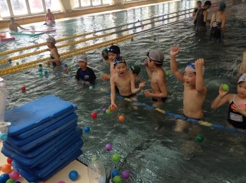 春短期教室1期水中祭り_b0286596_16165927.jpg