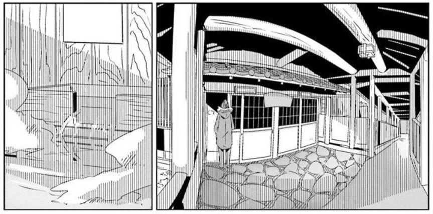 コミック「ゆるキャン△」舞台探訪003 志摩リン早川町の奈良田の里へ 第7巻第36話と第37話_e0304702_08125320.jpg