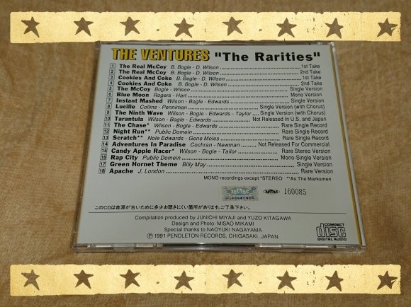 THE VENTURES / THE RARITIES_b0042308_13500645.jpg