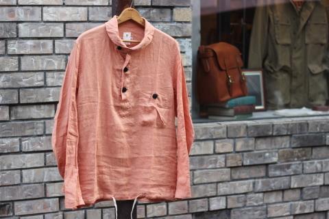 "「dip」 丈夫な天然素材を使用した\""Pullover Shirt\""のご紹介_f0191324_08411595.jpg"
