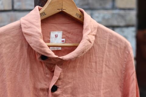 "「dip」 丈夫な天然素材を使用した\""Pullover Shirt\""のご紹介_f0191324_08412356.jpg"