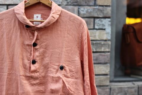 "「dip」 丈夫な天然素材を使用した\""Pullover Shirt\""のご紹介_f0191324_08413917.jpg"