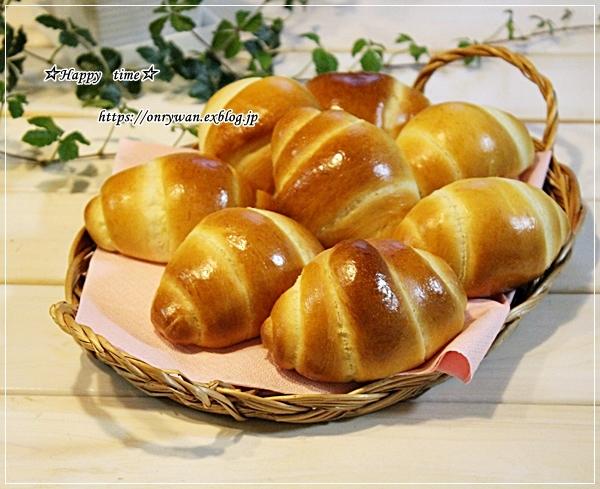 炊き込みご飯・アスパラ肉巻き弁当とパン焼き・バターロール♪_f0348032_18442821.jpg