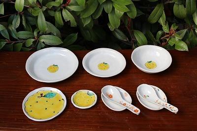 石川県能美市の文吉窯さんからユズの絵付けの作品が届きました。(2019年3月14日)_a0139239_13464728.jpg