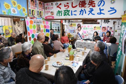 清瀬 佐々木あつ子市議の事務所開きへ_b0190576_09110016.jpg