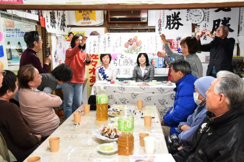 清瀬 佐々木あつ子市議の事務所開きへ_b0190576_09110552.jpg