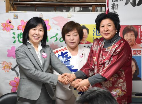 清瀬 佐々木あつ子市議の事務所開きへ_b0190576_09111383.jpg