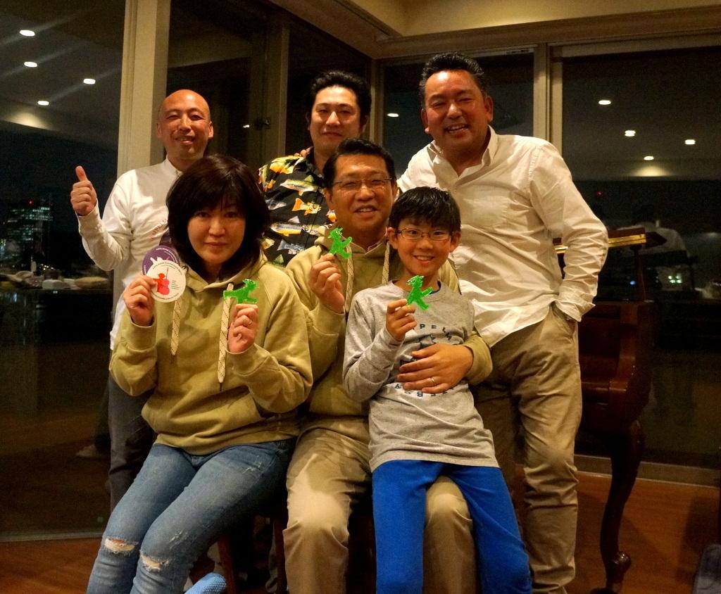 東京で最初の晩餐会_c0180686_08412512.jpg