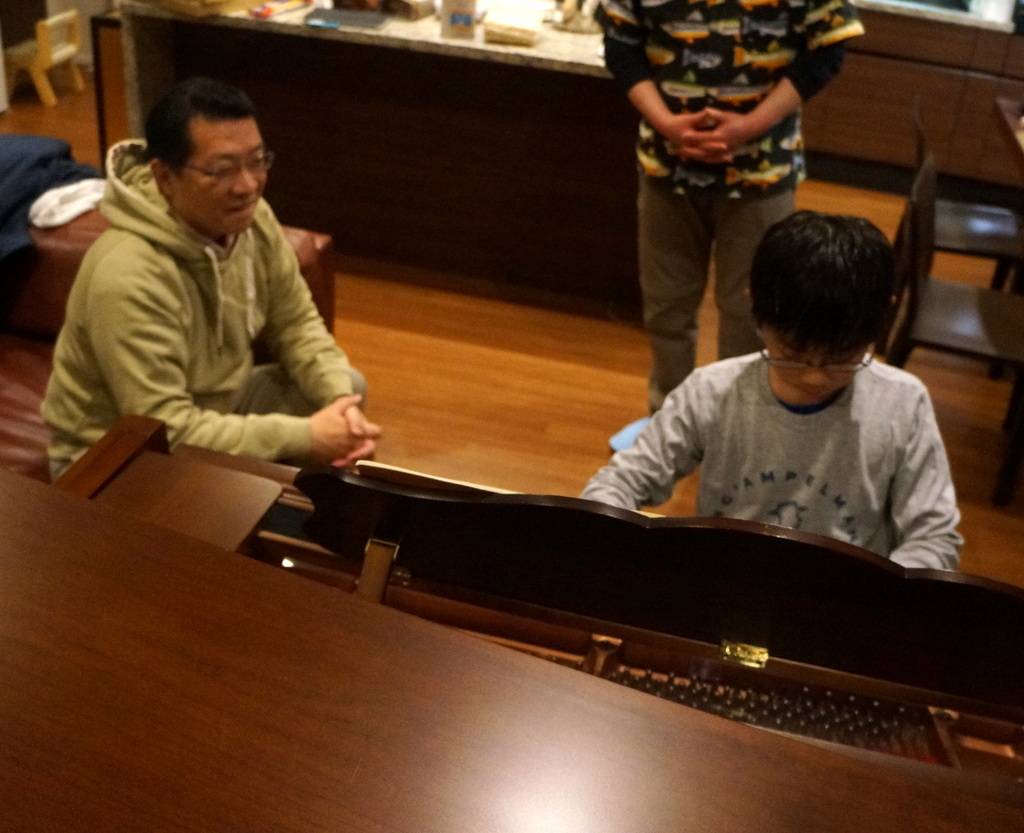 東京で最初の晩餐会_c0180686_08414225.jpg