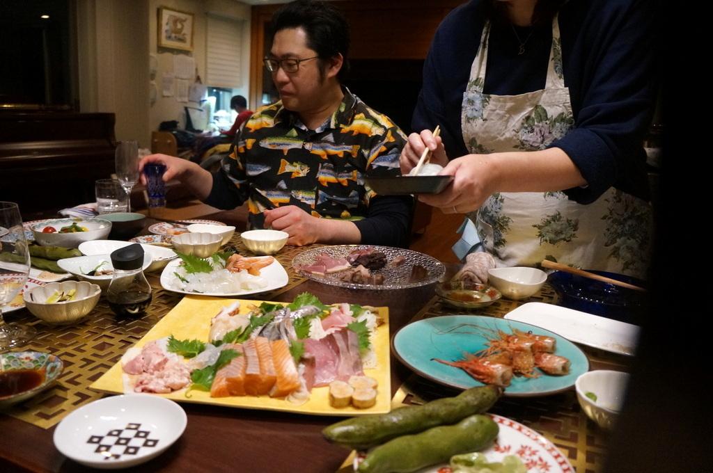東京で最初の晩餐会_c0180686_08423294.jpg