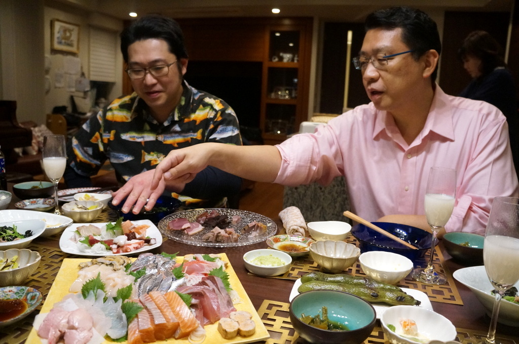 東京で最初の晩餐会_c0180686_08433476.jpg