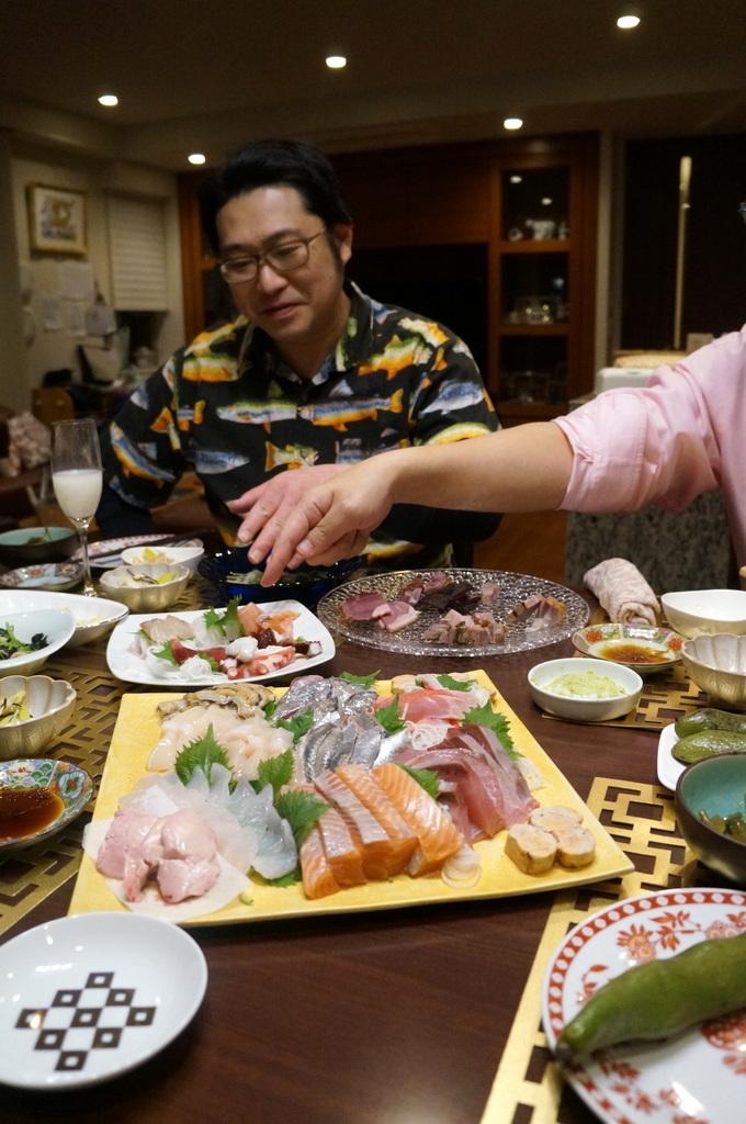 東京で最初の晩餐会_c0180686_08434273.jpg