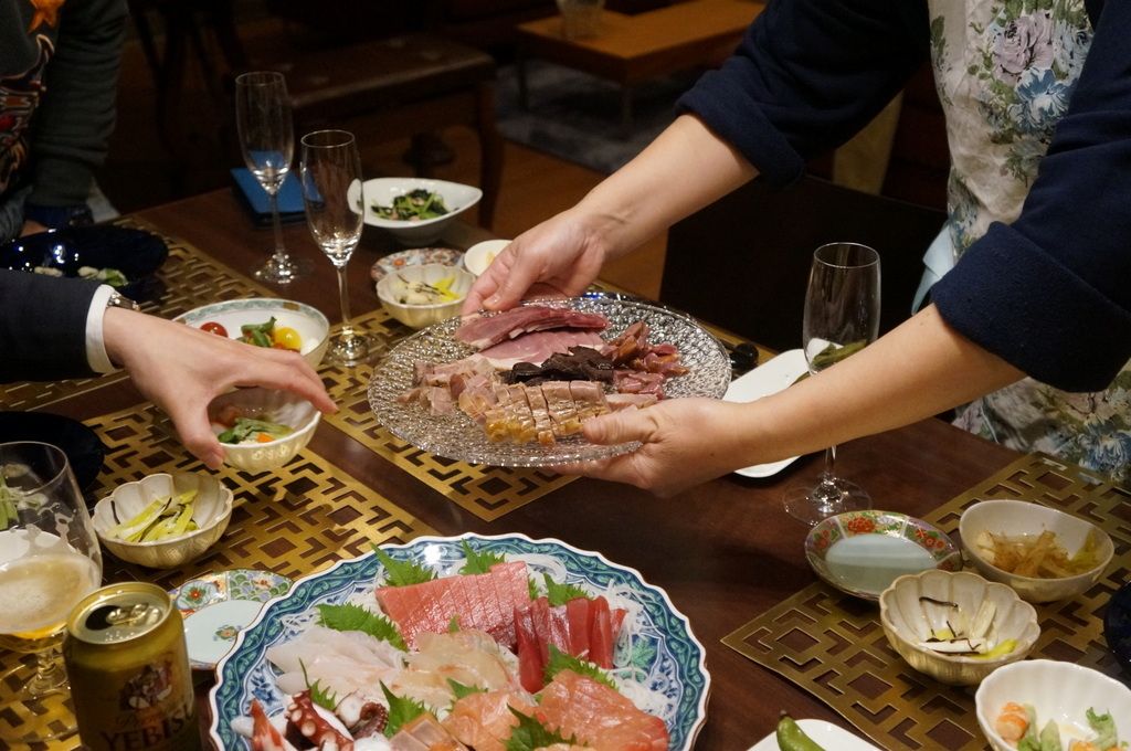 東京で最初の晩餐会_c0180686_08450005.jpg