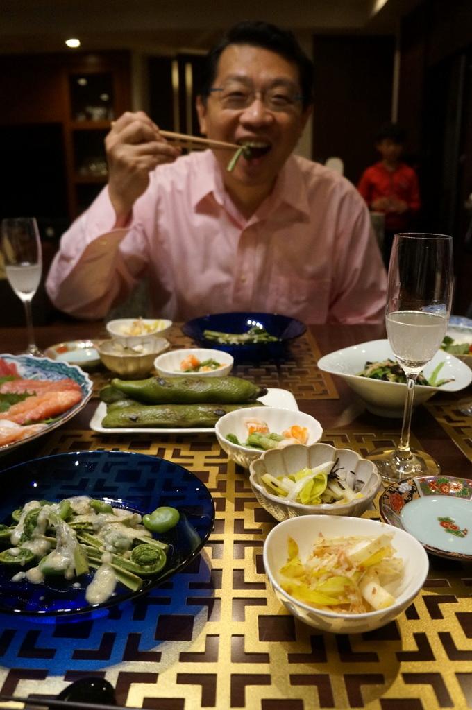 東京で最初の晩餐会_c0180686_08451255.jpg