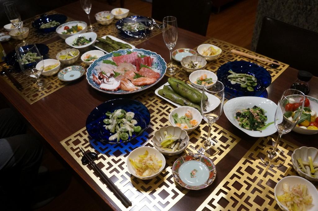 東京で最初の晩餐会_c0180686_08452529.jpg