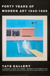 David Hockney: A Bigger Splash ポスター_c0214605_18234937.jpg