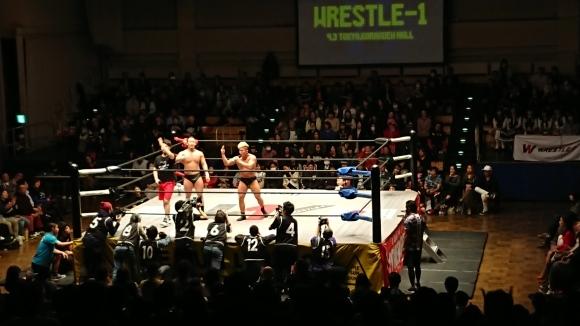 「WRESTLE-1 TOUR 2019 CHERRY BLOSSOM」4.3東京・後楽園ホール大会 Vol.1_b0042308_22325632.jpg