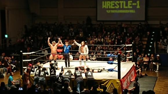 「WRESTLE-1 TOUR 2019 CHERRY BLOSSOM」4.3東京・後楽園ホール大会 Vol.1_b0042308_23142918.jpg