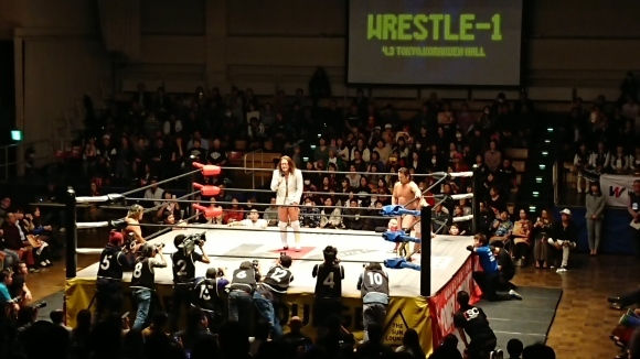 「WRESTLE-1 TOUR 2019 CHERRY BLOSSOM」4.3東京・後楽園ホール大会 Vol.1_b0042308_23150605.jpg