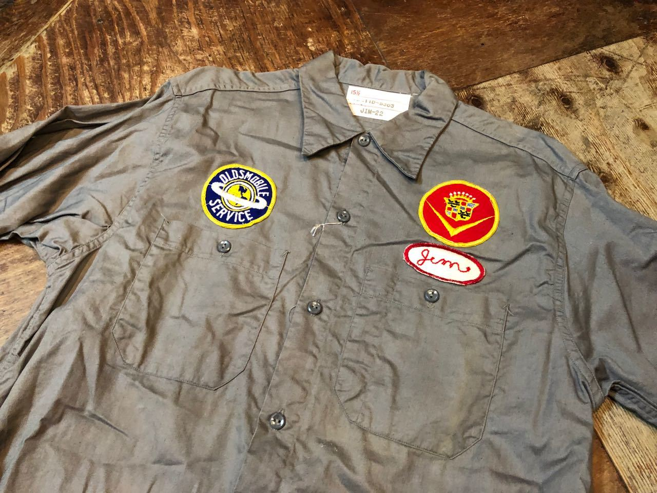 50s&60s  OLDSMOBILE  Factory  Work Shirs!! _c0144020_13375624.jpg