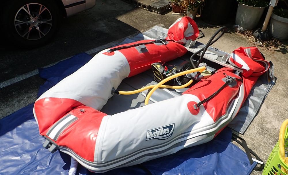2馬力ボート釣り準備、おおむね完了です。 2019年4月4日(木)_d0171823_21374191.jpg