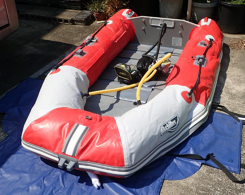 2馬力ボート釣り準備、おおむね完了です。 2019年4月4日(木)_d0171823_21374760.jpg