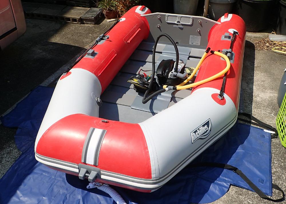 2馬力ボート釣り準備、おおむね完了です。 2019年4月4日(木)_d0171823_21380481.jpg